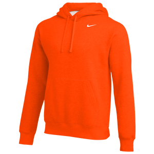 costo Sandalias Algún día  Nike Team Club Fleece Hoodie - Men's - For All Sports - Clothing -  Orange/White