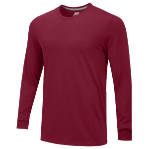 Nike Team Core L/S T-Shirt - Men's - Team Maroon