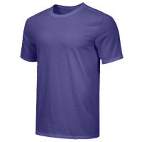 Nike Team Core S/S T-Shirt - Men's - Purple / Purple