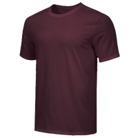 Nike Team Core S/S T-Shirt - Men's - Maroon / Maroon