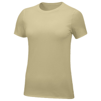 Nike Team Core S/S T-Shirt - Women's - Gold / Gold
