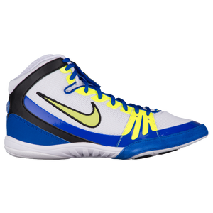 Nike Freek - Men's - White/Racer Blue/Volt