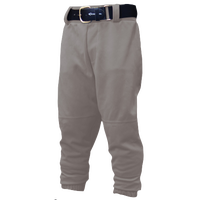 Easton Pull-Up Baseball Pants - Boys' Grade School - Grey / Grey