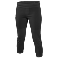 Easton Zone Softball Pants - Girls' Grade School - All Black / Black