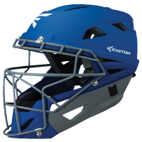 Easton Prowess Fastpitch Grip Catcher's Helmet - Women's - Blue / Grey