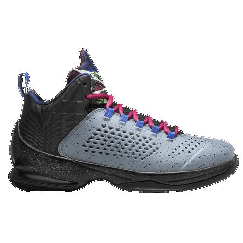 Jordan Melo M11 - Boys' Grade School - Basketball - Shoes - Blue Graphite/Metallic  Silver/Black/Game Royal