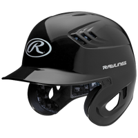 Rawlings Coolflo R16 Batting Helmet - Men's - Black / White