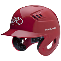 Rawlings Coolflo R16 Batting Helmet - Men's - Red / White