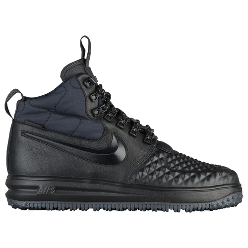 new concept cb3a3 3f867 Nike Lunar Force 1 Duckboots - Mens - All Black Black . ...