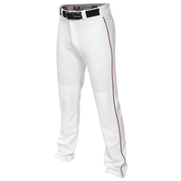 Easton Mako 2 Piped Baseball Pants - Men's - White / Maroon