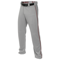 Easton Mako 2 Piped Baseball Pants - Men's - Grey / Maroon