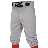 Easton Pro + Knicker Baseball Pants - Men's - Grey / Grey