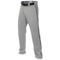 Easton Mako 2 Piped Baseball Pants - Boys' Grade School - Grey / Navy