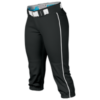 Easton Prowess Piped Softball Pants - Women's - Black / Blue