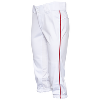 Easton Prowess Piped Softball Pants - Women's - White / Red