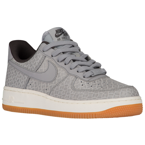 nike air force 1 womens gray