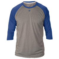 Easton 3/4 Sleeve Raglan Crew Neck T-Shirt - Men's - Grey / Blue