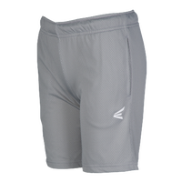 Easton M5 Mesh Shorts - Boys' Grade School - Grey / Grey