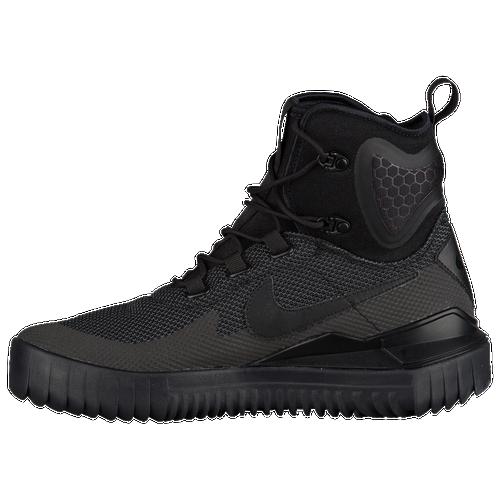 Nike Air Wild Mid - Men's - Casual - Shoes - Black/Black/Black/Anthracite