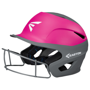 Easton Prowess Two-Tone FP Helmet with Mask - Women's - Charcoal/Pink