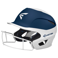 Easton Prowess Two-Tone FP Helmet with Mask - Women's - White / Navy