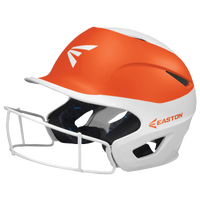 Easton Prowess Two-Tone FP Helmet with Mask - Women's - White / Orange