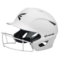 Easton Prowess Grip FP Batting Helmet with Mask - Women's - White / Black