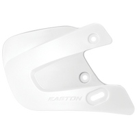 Easton Extended Jaw Guard - All White / White