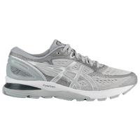 ASICS® GEL-Nimbus 21 - Men's - Grey / Silver