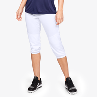 Under Armour Cropped Softball Pants - Women's - White
