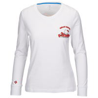 Converse X Hello Kitty L/S Shoe Pile T-Shirt - Women's - White