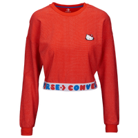 Converse X Hello Kitty L/S Sport T-Shirt - Women's - Red