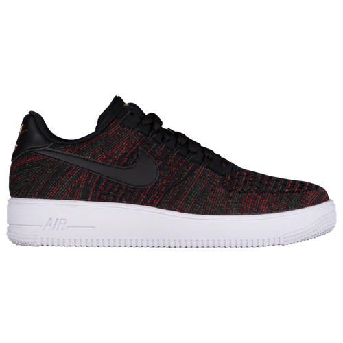 mens nike air force 1 flyknit low black nz