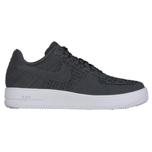 Nike Air Force 1 Ultra Flyknit Low - Men's - Casual - Shoes - Dark  Grey/Dark Grey/White