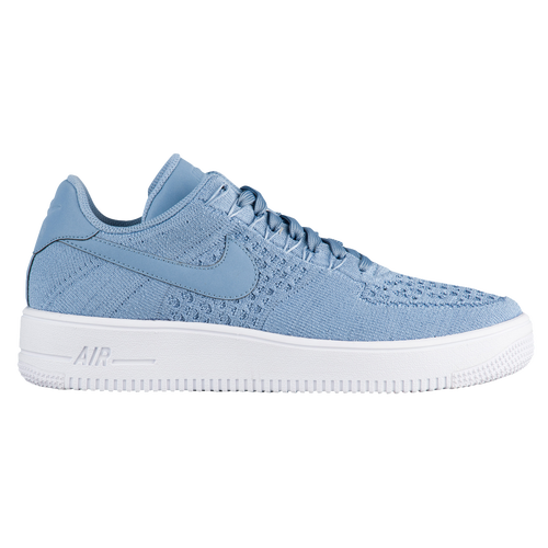 Nike Air Force 1 Ultra Flyknit Low - Men's - Casual - Shoes - Work Blue/Work  Blue/White