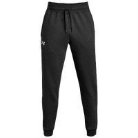 Under Armour Team Hustle Fleece Jogger Pants - Men's - Black / White