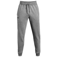 Under Armour Team Hustle Fleece Jogger Pants - Men's - Grey / Black