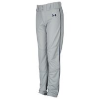 Under Armour Utility Relaxed Piped Pants - Boys' Grade School - Grey