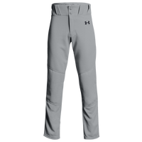 Under Armour Utility Open Bottom Pants - Boys' Grade School - Grey