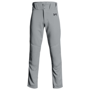 Under Armour Utility Open Bottom Pants - Boys' Grade School - Baseball Grey