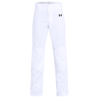 Under Armour Utility Open Bottom Pants - Boys' Grade School - White