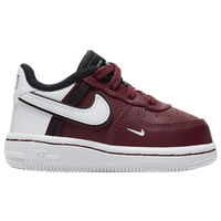 Nike Air Force 1 Low - Boys' Toddler - Maroon / Maroon