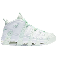 Nike Air More Uptempo - Women s - Light Green   White 8268174473