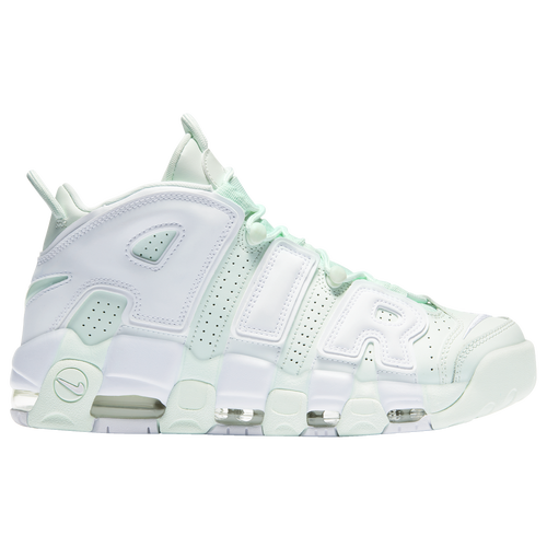 Nike Air More Uptempo - Women's - Basketball - Shoes - Barely Green/White