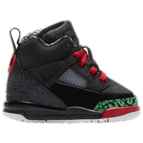 big sale b0536 fd702 Jordan Spizike - Boys  Toddler - Basketball - Shoes - Black Varsity Red Classic  Green White