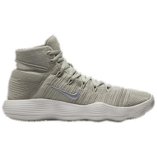 Nike React Hyperdunk 2017 Flyknit - Men\u0027s - Off-White / Silver