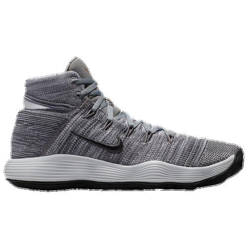 Nike React Hyperdunk 2017 Flyknit - Men's - Grey / Grey