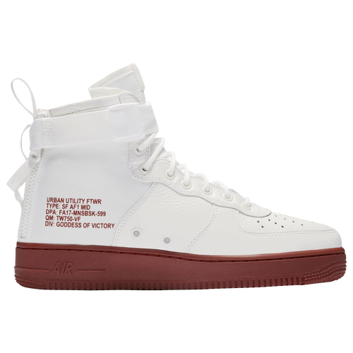 nike air force 1 mid white footlockers