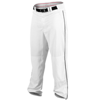 Rawlings Ace Relaxed Fit Piped Pants - Men's - White / Black