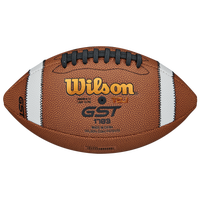Wilson GST TDJ Junior Composite Football - Boys' Grade School - Brown / White